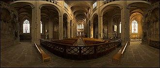 Limoges Cathedral - Image: Interieur de la cathedrale 1