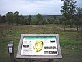 Interpretation Board at the Iron Age Hill Fort, Holmbury Hill - geograph.org.uk - 1317389.jpg