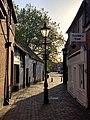 Intersection between Northcroft Street, Northbrook Street and Bridge Street in Newbury, UK.jpg