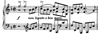 Clarinet Sonatas (Brahms) - Introduction to the last movement of the sonata.