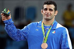 Iran's Rezaei Wins 98kg Bronze in Men's Greco-Roman Wrestling 15.jpg