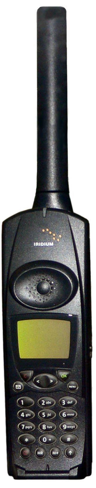 Iridium satellite constellation - Image: Iridium phone 2