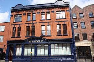 The Irish News - Irish News, Donegall Street, July 2010