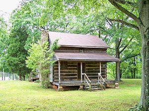 Irvin-Hamrick Log House - Image: Irvin Hamrick Log House