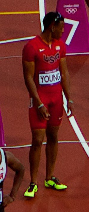 Isiah Young - Isiah Young at the 2012 Summer Olympics