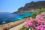 Isola di Levanzo, Sicilia, Italia