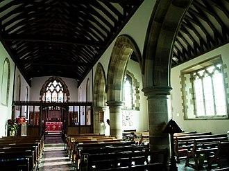 Itchingfield - Image: Itchingfield Church interior geograph.org.uk 1588319