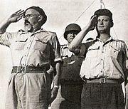 Itzhak Sade Yigal Alon