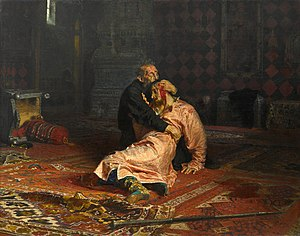 Iván el Terrible y su hijo, por Iliá Repin.jpg