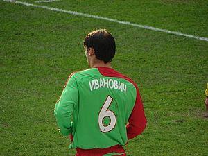 Branislav Ivanović - Ivanović playing for Lokomotiv in 2007