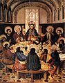 JACOMART, Jaume Baço, The Last Supper, 1450s, Cathedral Museum, Segorbe.jpg