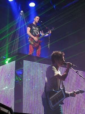 John Paul Jones Arena - British rock band Muse playing at JPJ in October 2010