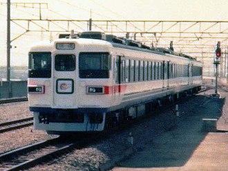 165 series - Image: JRE EC165 Shuttle Maihama