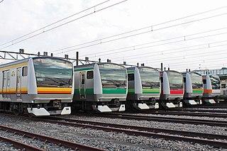 E233 series Japanese train type
