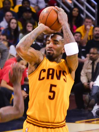 J. R. Smith - Smith with the Cavaliers in January 2015