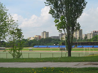 Jonava - Central stadium of Jonava