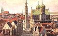 J Marschall Augsburg Rathaus und Perlachturm.jpg