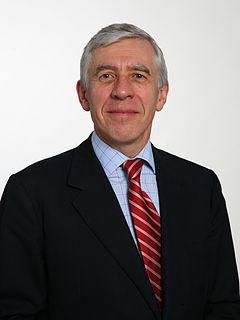 Jack Straw British Labour politician
