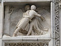 Jacob Wrestling with the Angel-Exterior of the Duomo-Milan.jpg