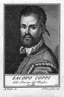 Jacopo Coppi Italian painter (1546-1591)