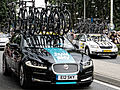 Jaguar XF - Team Sky - Tour de France 2015 - Haastrecht - Zuid-Holland - Pays-Bas (18818348044).jpg