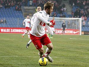 Jakub Błaszczykowski - Błaszczykowski playing for Poland in 2011