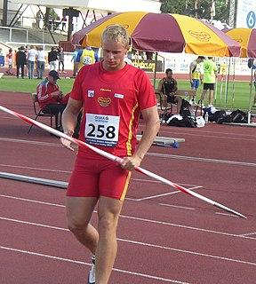 Jakub Vadlejch Olympic javelin thrower