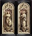 Jan gossaert, due ali del trittico di salamanca, 1521.jpg