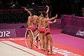 Japan Rhythmic gymnastics at the 2012 Summer Olympics (7915133064).jpg