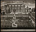 Jardin Royal, Paris; showing figures strolling in the garden Wellcome V0014328.jpg