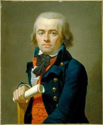 Jean-Louis Laneuville - Image: Jean Louis Laneuville Portrait of Jean Antoine Joseph Debry