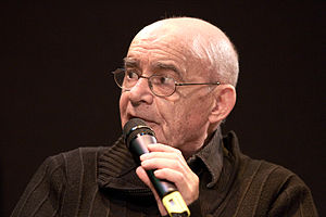Jean-Luc Nancy 20100328 Salon du livre de Paris 1