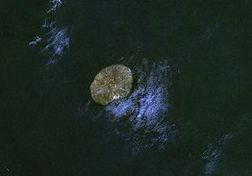 Image satellite de Jabal al-Tair.