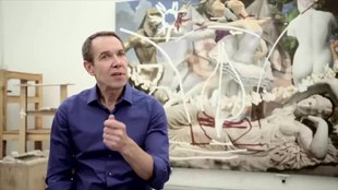 File:Jeff Koons in Matt Black Reflections series.webm