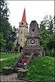 Jelgava, cemetery «Kāpām uz sārta – nesām jums brīvību» - panoramio.jpg