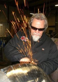 Jerry Covington motorcycle and chopper builder