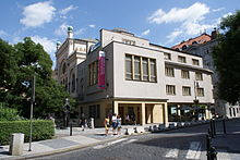 Jewish Museum and the Spanish synagogue in Prague.JPG