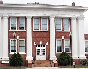 Jimmy Carter National Historic Site - Image: Jimmy Carter's High School, Plains, GA, US