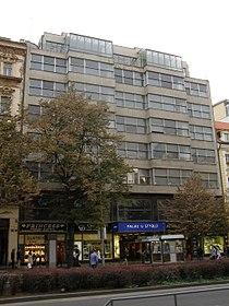Jiná obytná stavba Palác Alfa (Nové Město), Praha 1, Václavské nám. 785, Nové Město.JPG