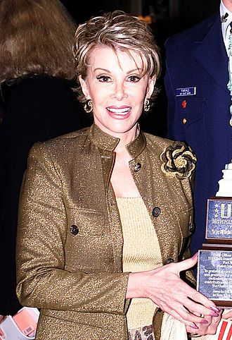 Joan Rivers - Rivers poses for a photograph at The Pierre hotel in New York City, May 24, 2001