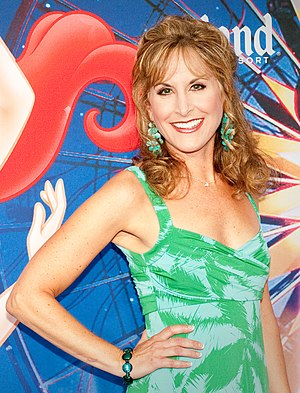 Jodi Benson - Benson at the World of Color Premiere Disney California Adventure