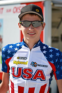 Joe Dombrowski American road cyclist