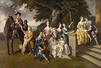 Slavery in Britain - Johan Zoffany 'The Family of Sir William Young'