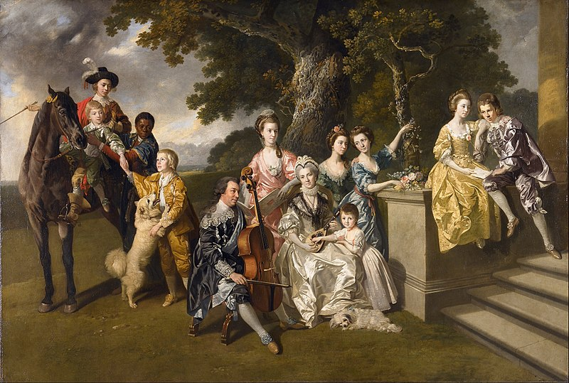 চিত্র:Johan Zoffany - The Family of Sir William Young - Google Art Project.jpg