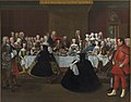 Johann Salomon Wahl - A Banquet at the Court of the German Emperor Charles VI - KMS996 - Statens Museum for Kunst.jpg
