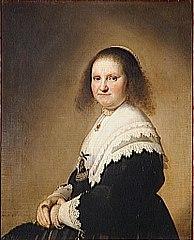 Portrait of Anna van Schoonhoven