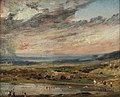 John Constable - Hampstead Heath, with Pond and Bathers (1821).jpg