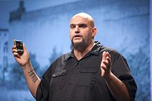 John Fetterman - Pop!Tech 2009 - Camden, ME 2.jpg
