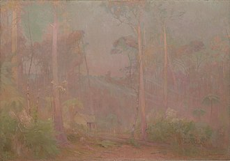 John Ford Paterson - Fernshaw: A Bush Symphony, 1900, National Gallery of Victoria