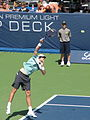 John Isner at the 2009 Indianapolis Tennis Championships 01.jpg